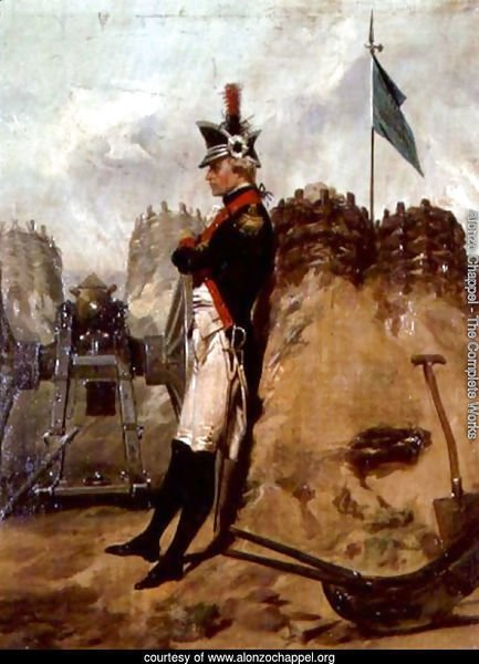 Alexander Hamilton (1757-1804) in the Uniform of the New York Artillery