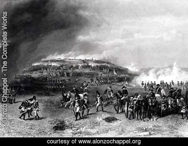 Battle of Bunker's Hill, 17th June 1775