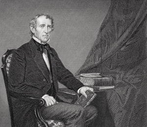 Alonzo Chappel - Portrait of John Tyler (1790-1862)