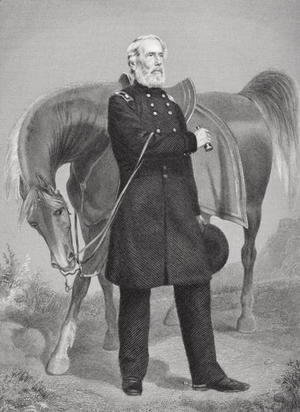 Portrait of General Edwin Vose Sumner (1797-1863)