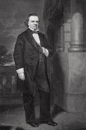 Alonzo Chappel - Portrait of Stephen Arnold Douglas (1813-61)