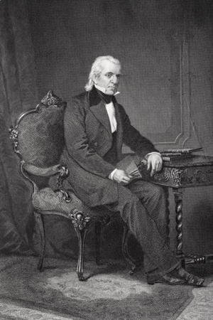Portrait of James Knox Polk (1795-1849)