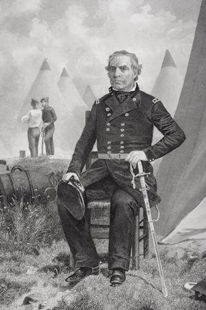 Alonzo Chappel - Portrait of Zachary Taylor