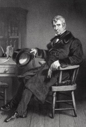 Alonzo Chappel - Portrait of William Henry Harrison (1773-1841)