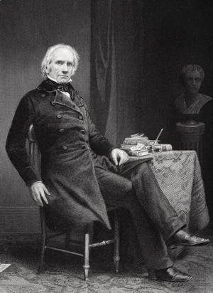Alonzo Chappel - Portrait of Henry Clay (1777-1852)
