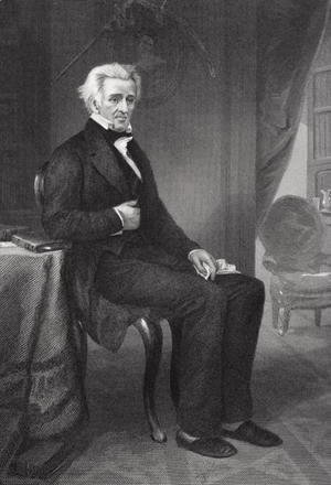 Alonzo Chappel - Andrew Jackson (1767-1845) 7th President of the United States