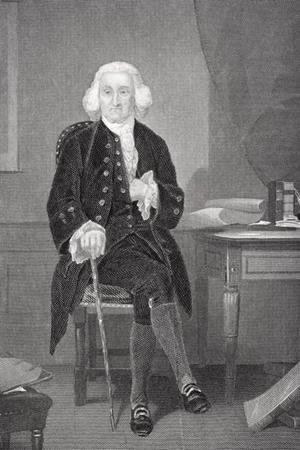 Portrait of Jonathan Trumbull (1710-85)