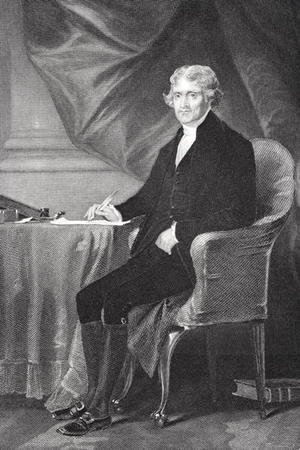 Portrait of Thomas Jefferson (1743-1826)