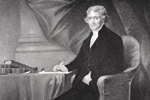 Portrait of Thomas Jefferson (1743-1826) (2)