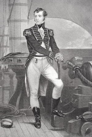 Alonzo Chappel - Portrait of Stephen Decatur (1779-1820)
