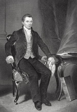 Alonzo Chappel - James Monroe (1758-1831)