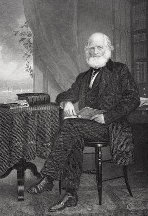 Alonzo Chappel - William Cullen Bryant (1794-1878)