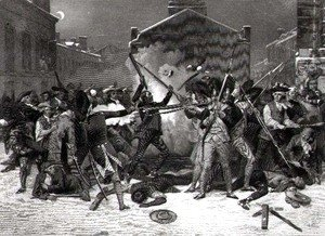 The Boston Massacre, 5th March 1770
