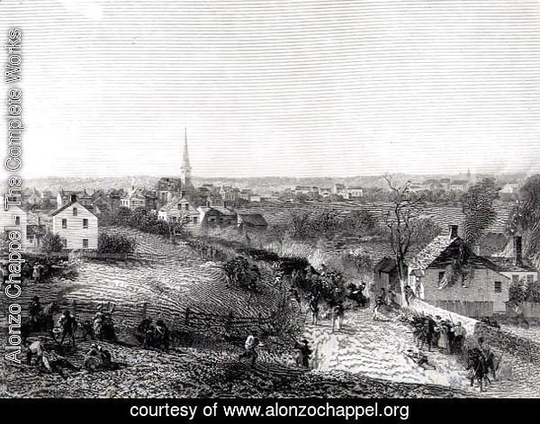 The Retreat of the British from Concord, April 1775