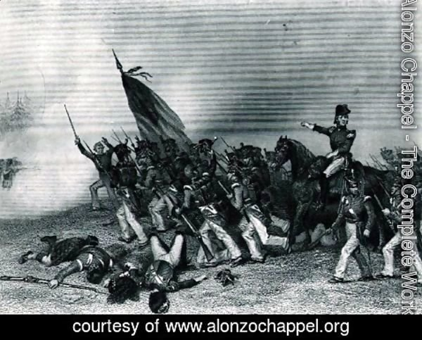 Alonzo Chappel - Battle of Cerro Gordo, April 1847