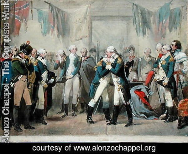 Alonzo Chappel - Washington's Farewell to his Officers
