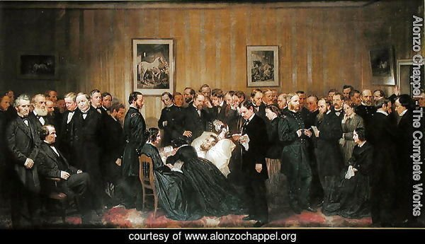 The Death of Lincoln, 1868