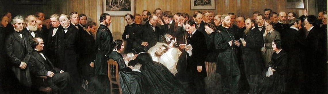 Alonzo Chappel - The Death of Lincoln, 1868
