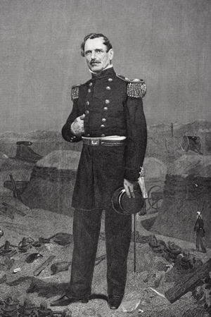 Portrait of General James Shield