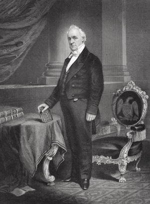 Portrait of James Buchanan (1791-1868)