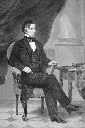 Alonzo Chappel - Portrait of Franklin Pierce (1804-69)