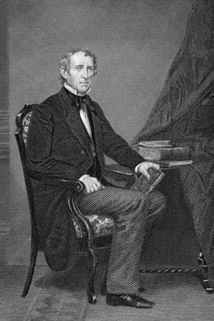 Portrait of John Tyler (1790-1862) 2